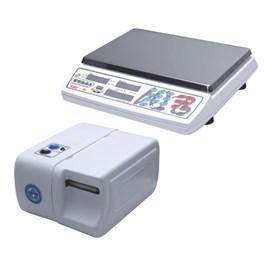 Balança Eletrônica 15kg e Etiquetadora Gural