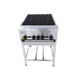 Char Broiler 4 Queimadores com Pé Aço Inox CGGP60 Venancio