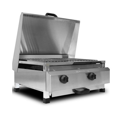 Char Broiler a Gás 60x50 Marchesoni CH.4.052