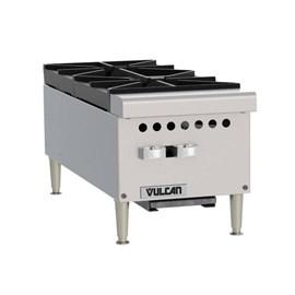 Fogão de Bancada 2 Queimadores Hotplate a Gás Vulcan VCRH12