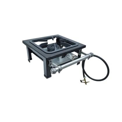 Fogão Industrial 1 Boca 30X30 Alta Pressão de Mesa S2000 Metalmaq