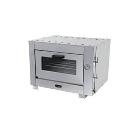 Forno Industrial 50x50 a Gas Gratinador com Infra Vermelho Metalmaq