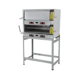 Forno Industrial a Gás 70X50 2 câmaras Metalmaq