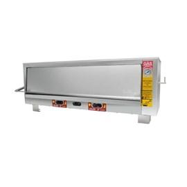 Forno Industrial a Gás 90X70 400°C 1 Câmara Metalmaq