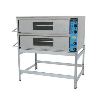 Forno Industrial Elétrico 90x70 2 Câmaras 220V Metalmaq