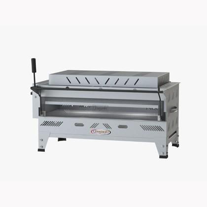 Forno Pizza Grill Fixo Refratário Luxo a Gás 156x50 com Infravermelho Itajobi