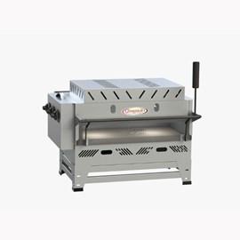 Forno Pizza Grill Fixo Refratário Luxo a Gás 71x42 com Infravermelho Itajobi