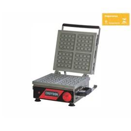 Máquina de Waffle Elétrica Belgian Croydon MWQS