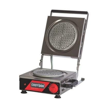 Máquina de Waffle Elétrica Redonda Croydon MWRS