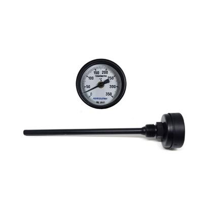 Termômetro com haste 0° A 350°