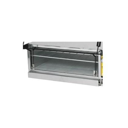 Vidro para Forno Guilhotina 80x60 Elétrico Metalmaq
