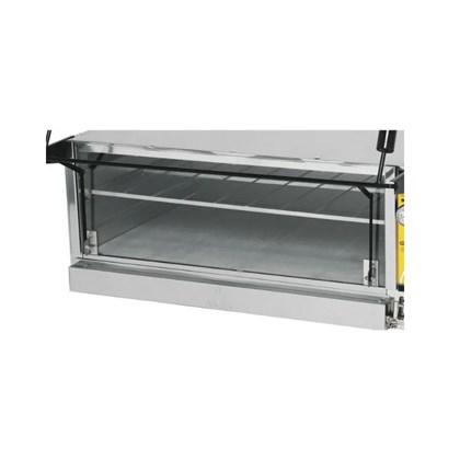 Vidro para Forno Guilhotina 90x90 Metalmaq
